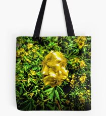 The Yellow Flower Tote Bag