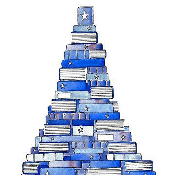 Weihnachtsbuchbaum 2018 von gentlecounsel