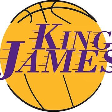 KING JAMES LOS ANGELES LEBRON SHIRT by RMorra