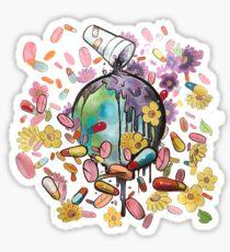 Juice WRLD & Future - WRLD On Drugs Sticker
