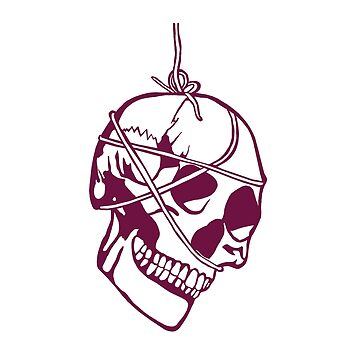 Freehand Funny Skull  by activeyou