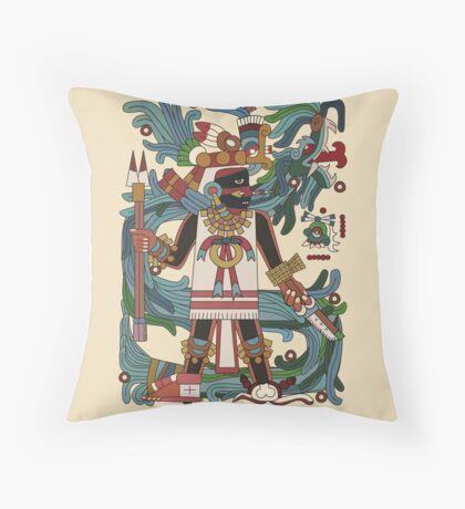 Tezcatlipoca II Throw Pillow