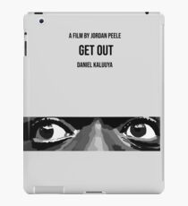 Get Out Minimal Movie Poster iPad Case/Skin