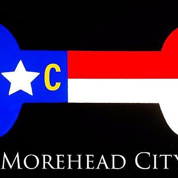 Morehead City NC dog bone by barryknauff