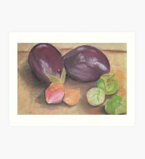From A Gourmet Kitchen Art Print