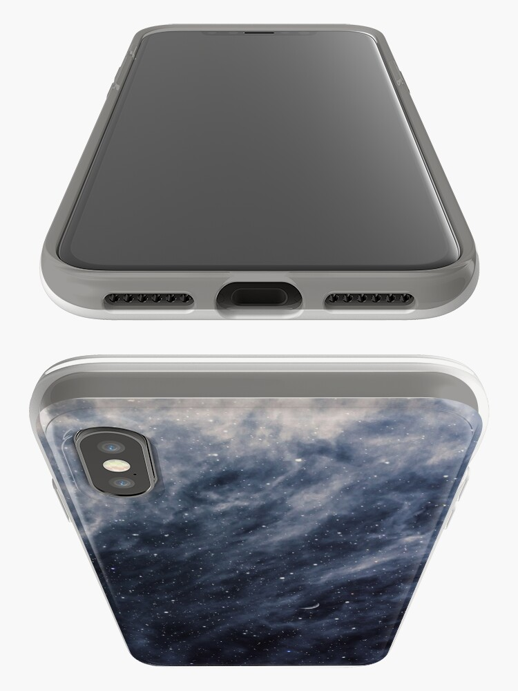 Alternate view of Blue Clouds, Blue Moon iPhone Cases & Covers