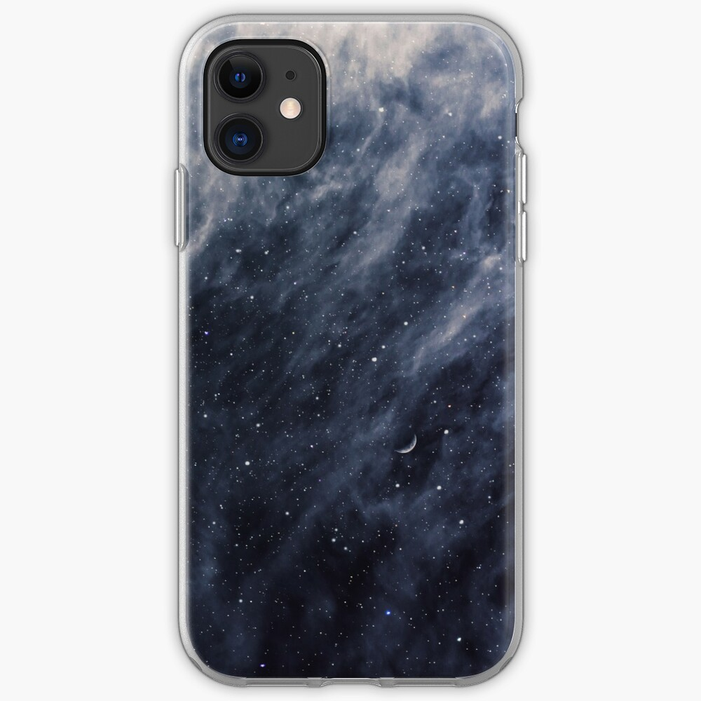 Blue Clouds, Blue Moon iPhone Case & Cover