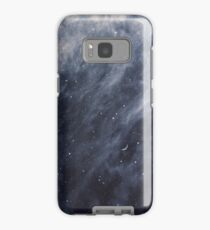 Blue Clouds, Blue Moon Case/Skin for Samsung Galaxy