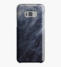 Blue Clouds, Blue Moon Case/Skin for Samsung Galaxy