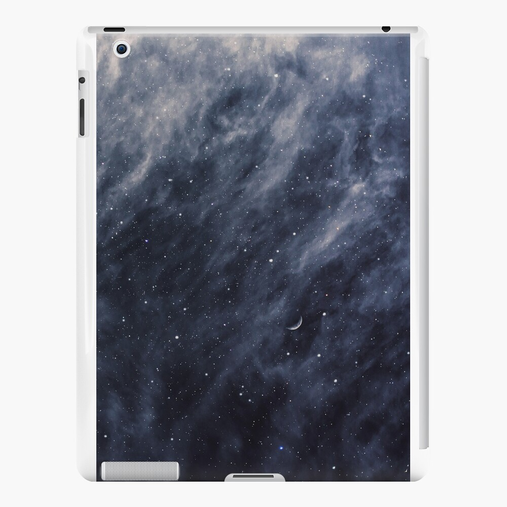 Blue Clouds, Blue Moon iPad Cases & Skins
