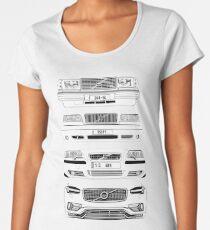 Volvo Fab Four Chassis Women's Premium T-Shirt
