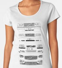 Volvo Fab Four Chassis Premium Scoop T-Shirt