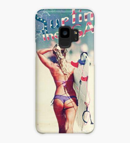 TASTY™ Surfer Girl Case/Skin for Samsung Galaxy