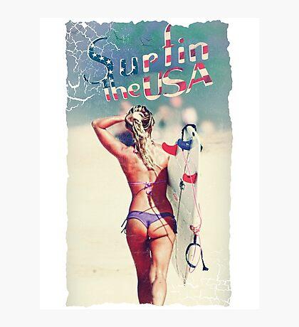 TASTY™ Surfer Girl Photographic Print