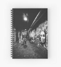 Cuaderno de espiral Seattle, murales de Post Alley