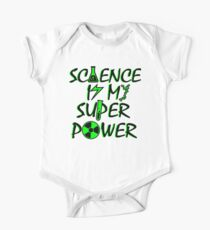 Science Is My Super Power One Piece - Short Sleeve