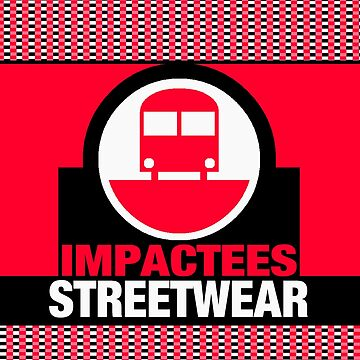 IMPACTEES STREETWEAR LOGO TRAIN RED by IMPACTEES