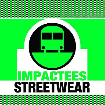 IMPACTEES STREETWEAR LOGO TRAIN GREEN by IMPACTEES