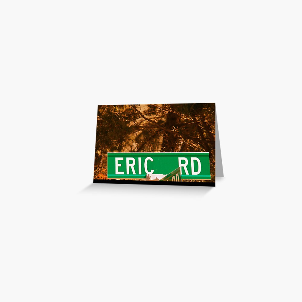 Eric Greeting Card
