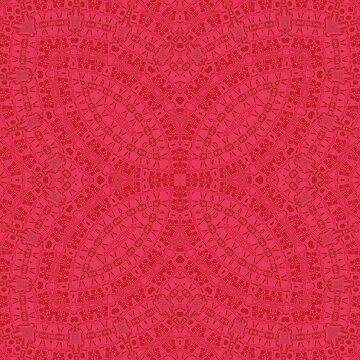 Red neon ornament by fuzzyfox