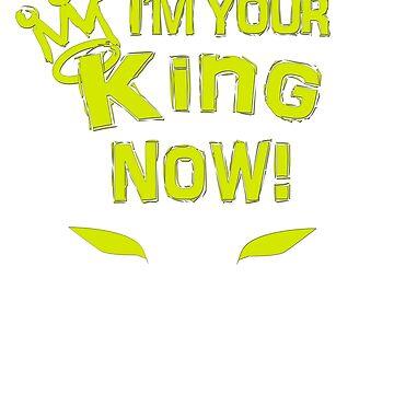 I'm your king Black Superhero tshirt T-Shirt by kmpfanworks