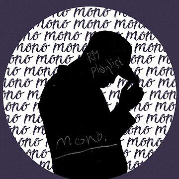 BTS - RM MONO SILHOUETTE by bangtanetic