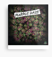Mein Kush Weed Purple Haze Cannabis Design Floral Hanf Marihuana Metalldruck