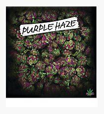 Lámina fotográfica My Kush Weed Purple Haze Cannabis diseño Floral cáñamo marihuana