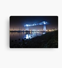 Teesside Transporter Bridge Canvas Print