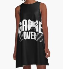GAME OVER A-Line Dress