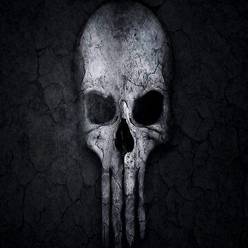 skull and crossbones Skull  by AbdelaaliKamoun
