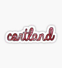 Cortland Tie Dye Sticker