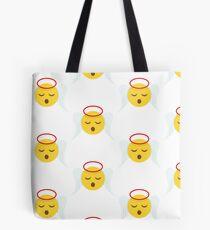 Angel Christmas Emoji  Tote Bag