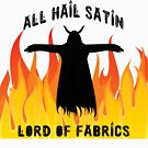 All Hail Satin Lord of Fabrics by raineofiris