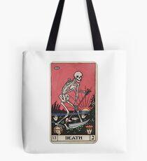 Bolsa de tela Tarot de muerte
