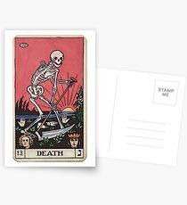Todes Tarot Postkarten