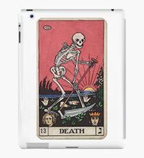 Vinilo o funda para iPad Tarot de muerte