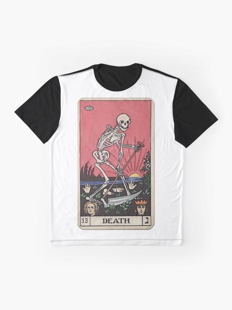 Alternative Ansicht von Todes Tarot Grafik T-Shirt