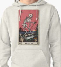 Death Tarot Pullover Hoodie