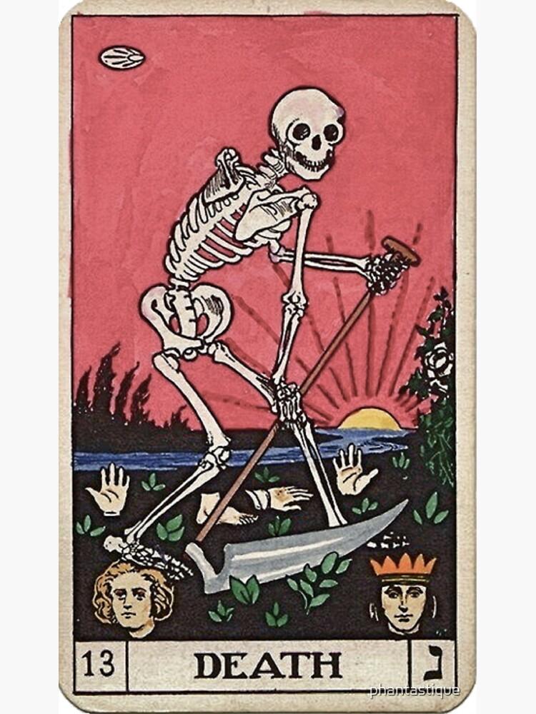 Tarot de muerte de phantastique