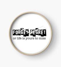 Rent: Forget Regret Clock