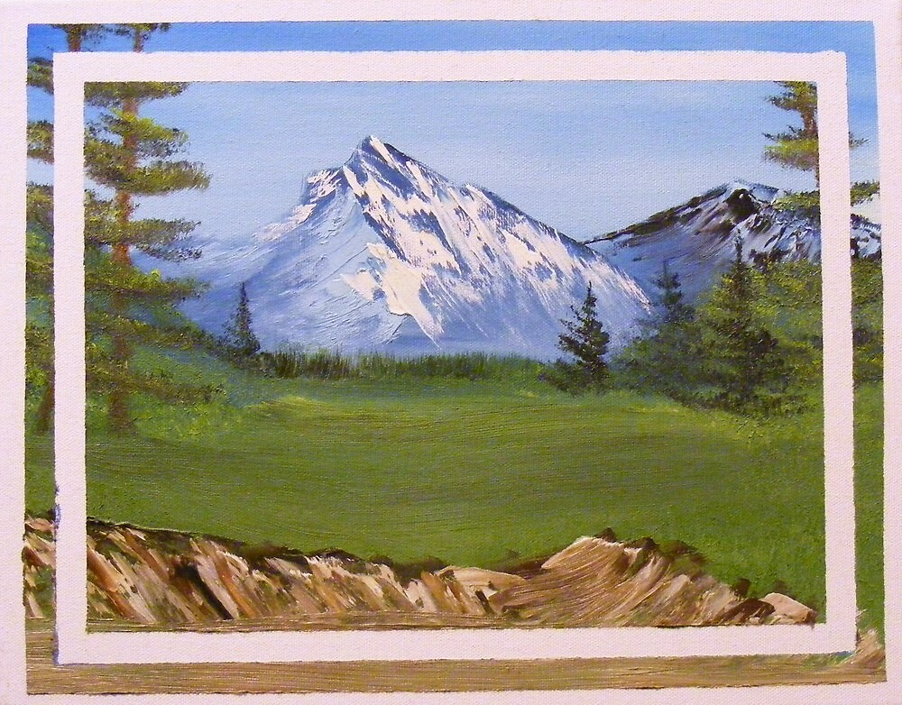 Teton Mountain View by KennethWright