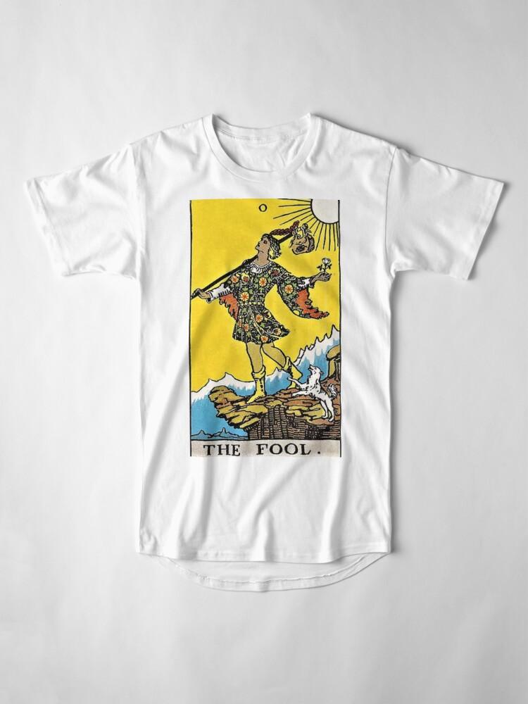 Alternative Ansicht von Der Narr Tarot Longshirt