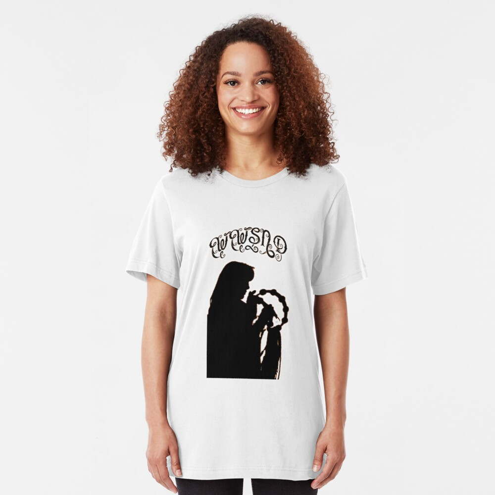 WWSND - What Would Stevie Nicks Do Slim Fit T-Shirt