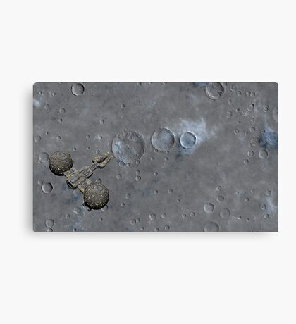 Above the Moon Canvas Print