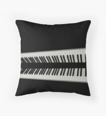 BITE ME! -  NEW COOL CHIQUE CLASSY PENCIL SKIRT Throw Pillow