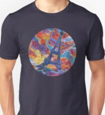 Eiffel's tower painting - 2014 T-Shirt