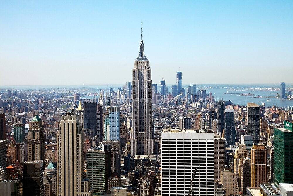 Empire State Building by Paul Thompson Photography