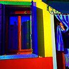 Woman In Doorway - Italy by Kent DuFault