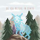 Ghost Goat by raediocloud
